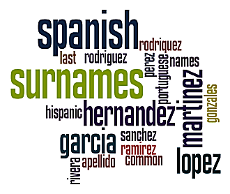 Spanish Surnames - Meanings of Common Hispanic Last Names