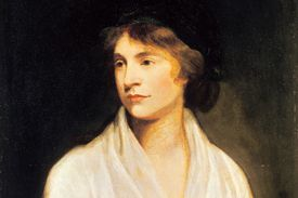 Mary Wollstonecraft - detail from a painting by John Odie, about 1797