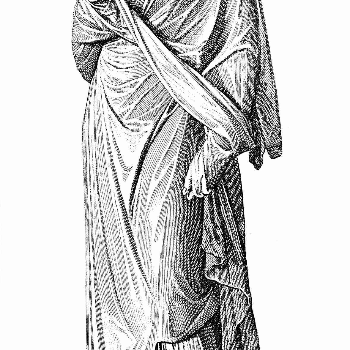 woman in palla