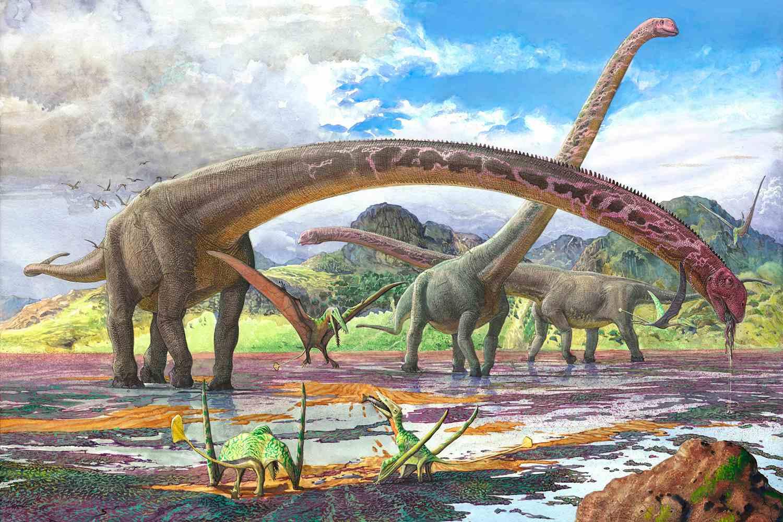 картинки большого динозавра