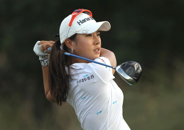 Hee Young Park during the 2011 CME Group Titleholders, which she won.