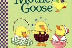 One, Two, Three, Mother Goose - board book