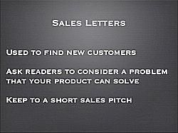 How To Write A Sales Letter For English Learners