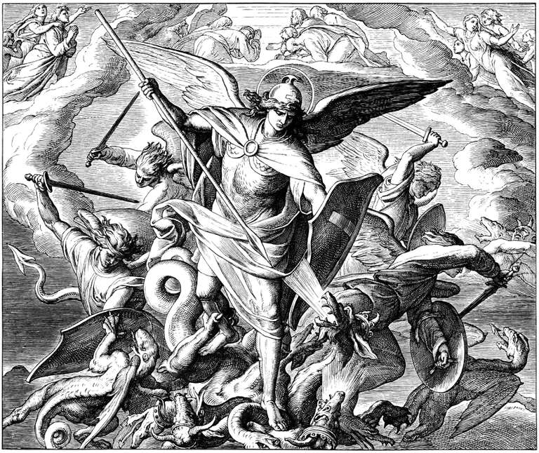 Archangel Michael Will Fight Satan During End Times