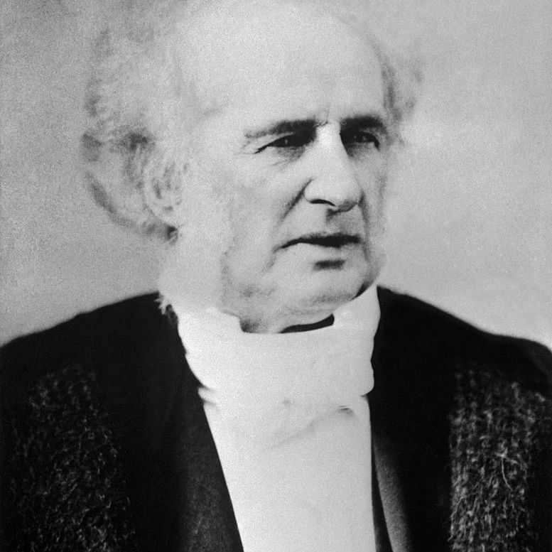 'Commodore' Cornelius Vanderbilt, one of the oldest and most reckless of financial buccaneers of his day. The commodore built up the New York Central Railroad.