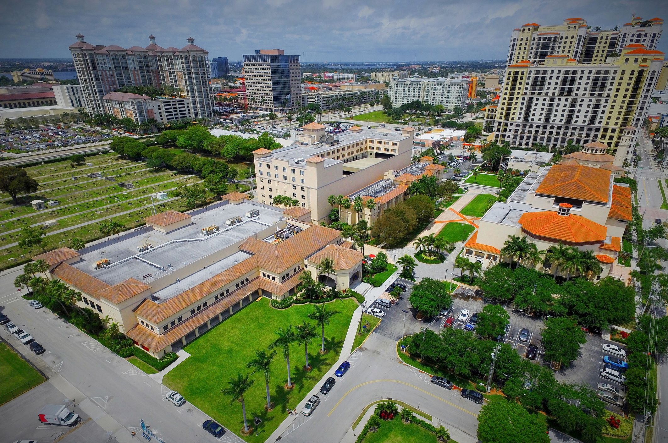 Downtown West Palm Beach Palm Beach Atlantic University