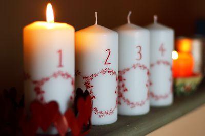 advent calendar dates