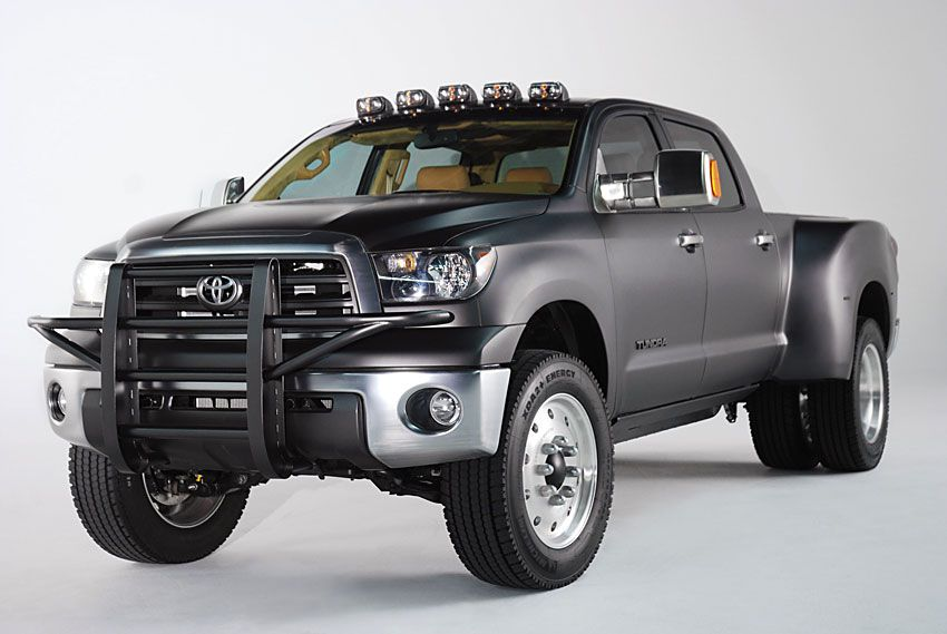 toyota tundra diesel dually project truck