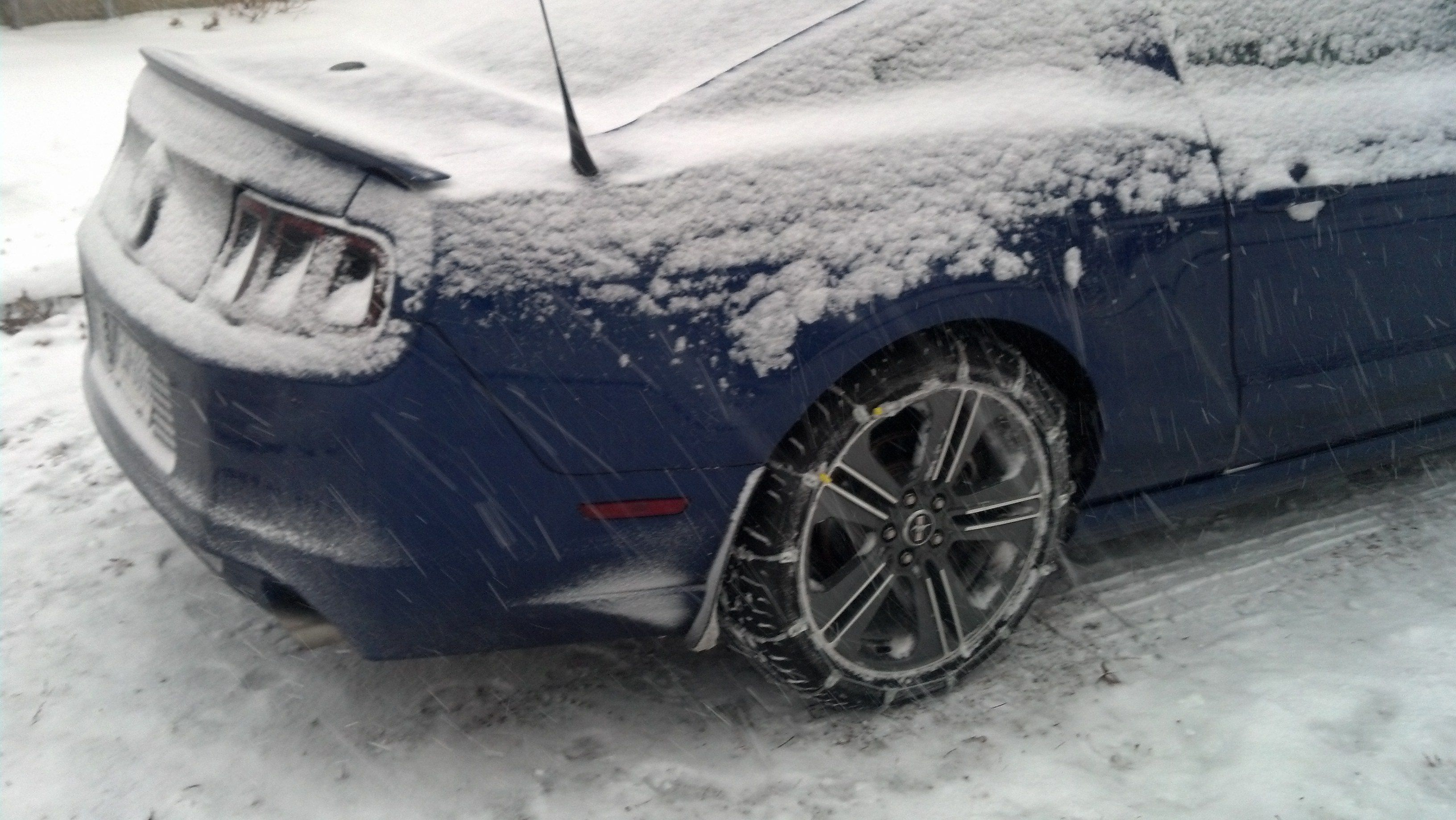 How to Buy Winter Tires for Your Mustang