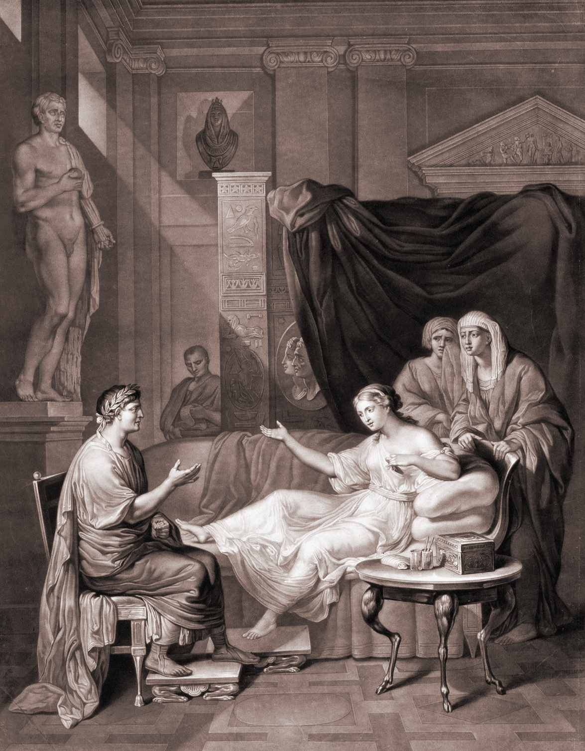 Augustus and Cleopatra