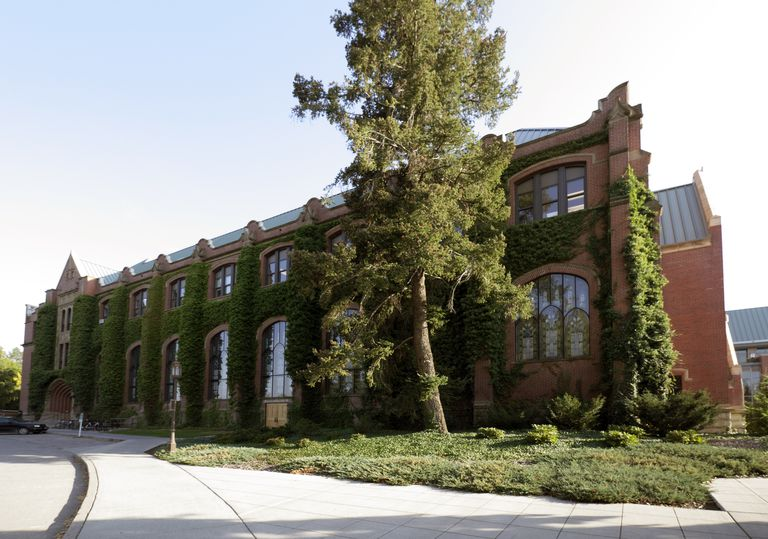 Administration building on the campus of the University of Idaho