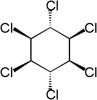 Lindane is an organic insecticide.