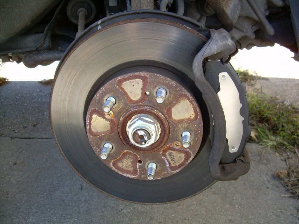 How To Change Your Brake Pads Step By Do You Have Diagram Of Shoe Springs On A 1991 Isuzu New Are Ready Go
