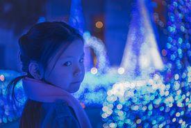 Girl and illumination