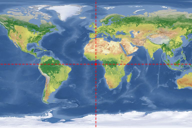 Where do 0 degrees latitude and longitude intersect where do the prime meridian and the equator intersect gumiabroncs Choice Image