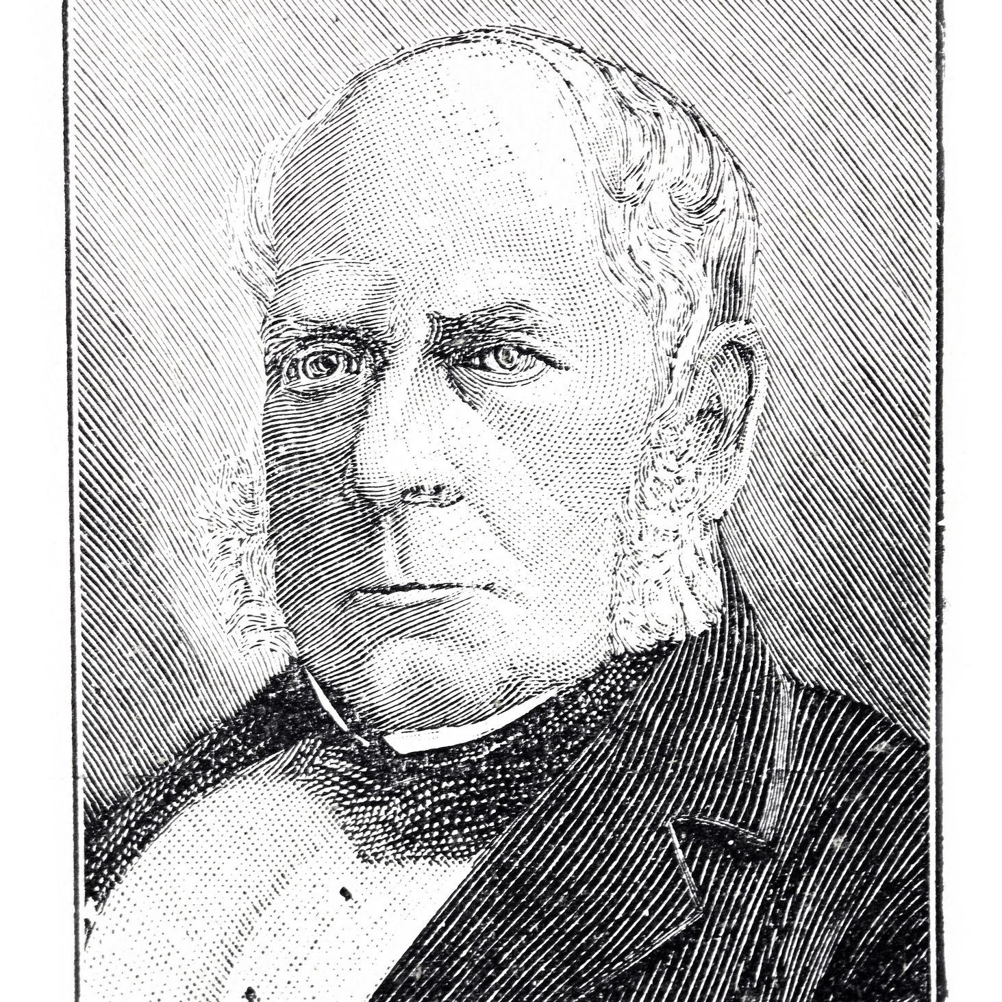 Portrait of Henry Bessemer, British inventor