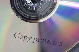 A CD stamped 'Copy protected'