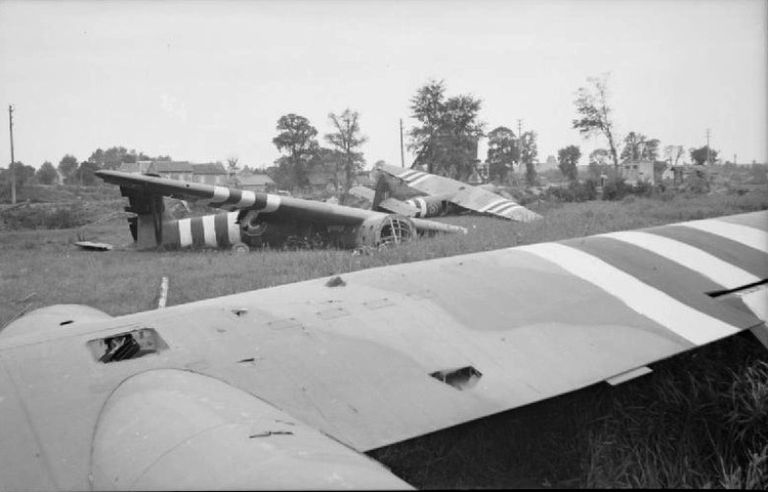 Operation Deadstick gliders in France