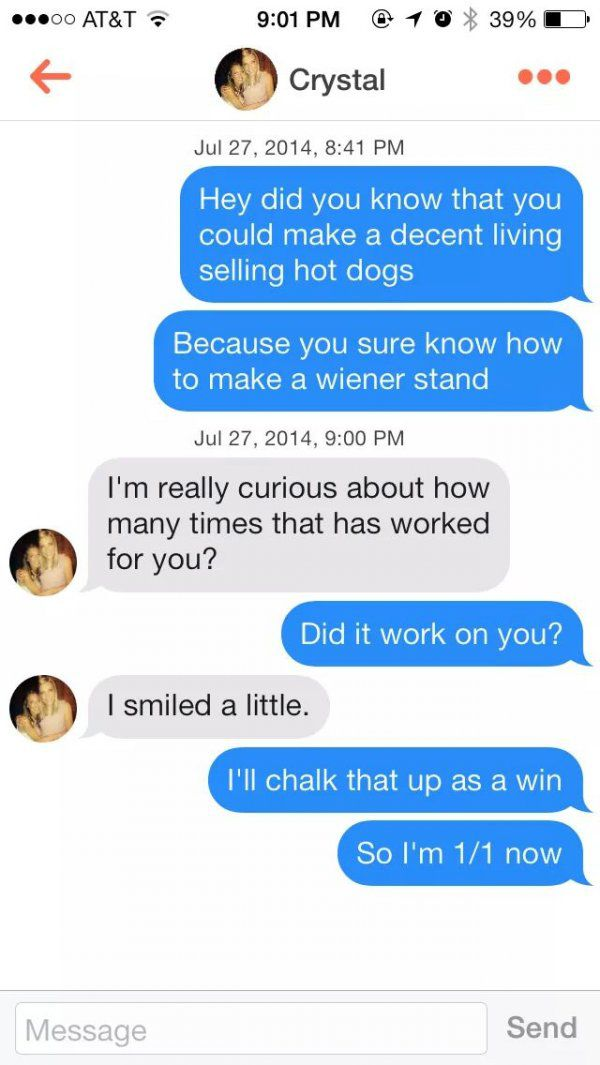 pick up lines to slide into dms