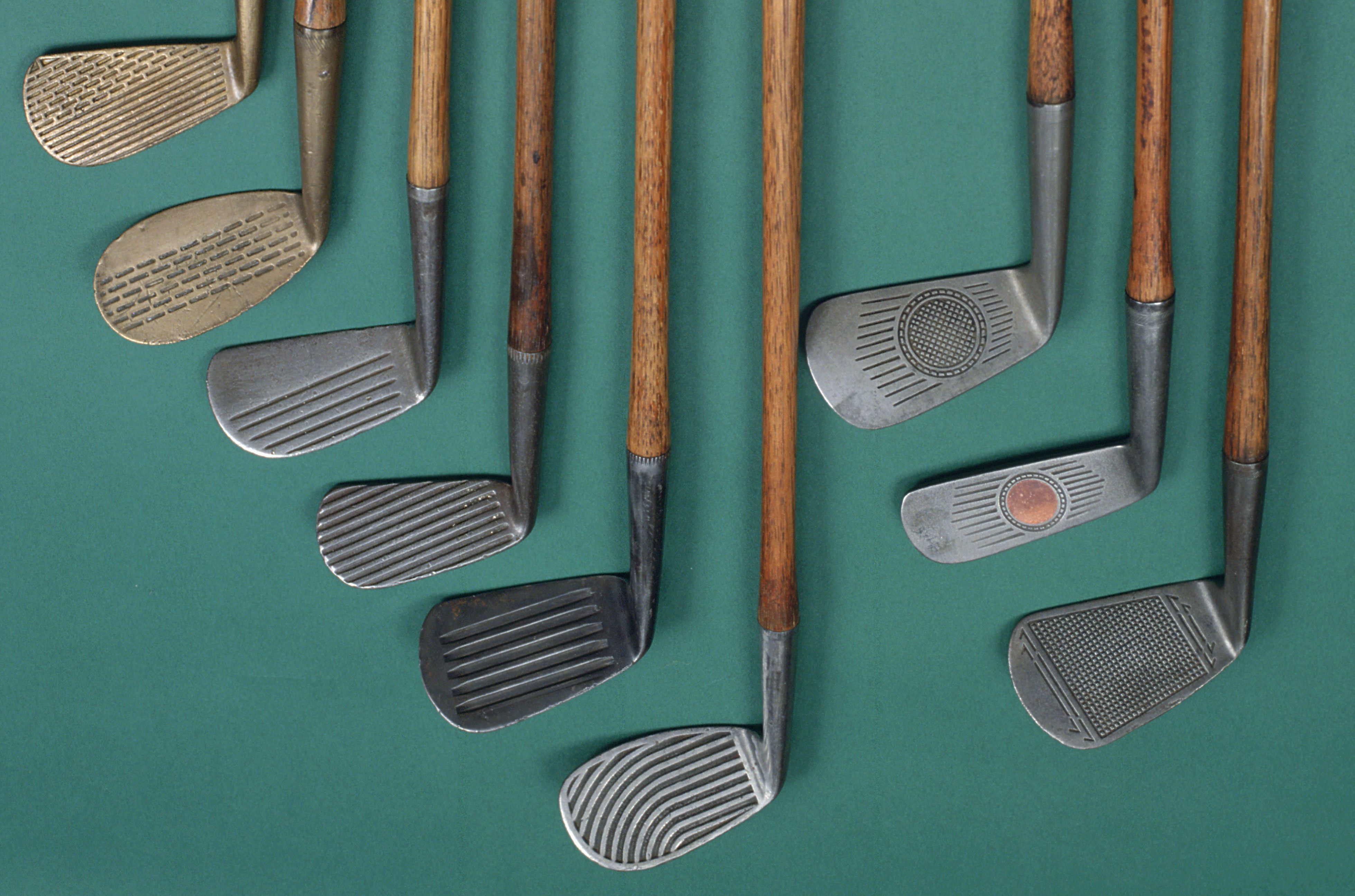 from mashies to niblicks names of old golf clubs