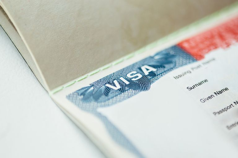 Visa close-up