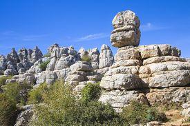 Dramatic limestone scenery