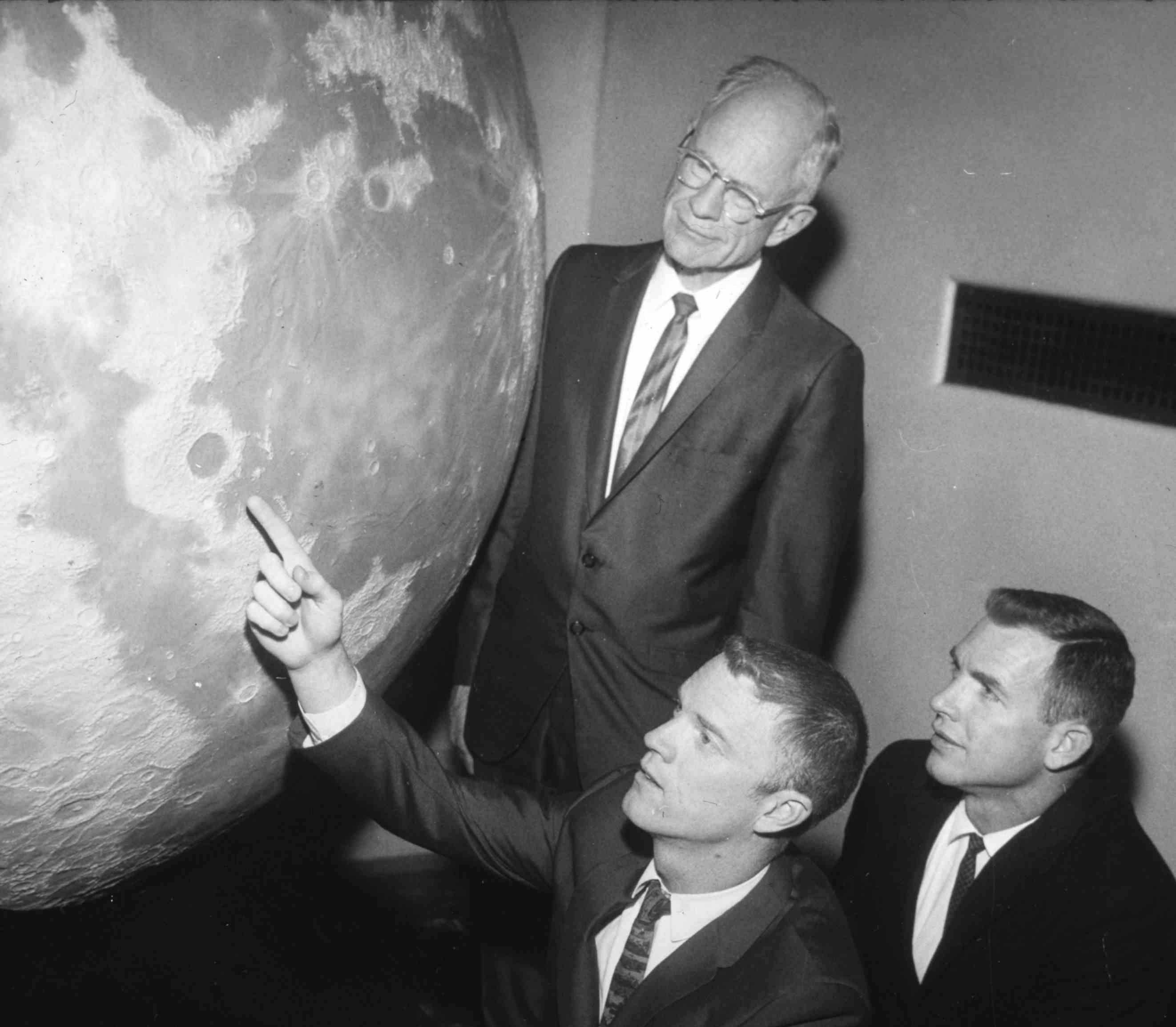 Apollo astronauts at Griffith Observatory