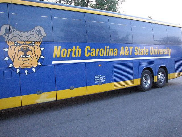 North Carolina A & T State University Bus