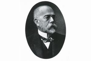 Portrait of Robert Koch