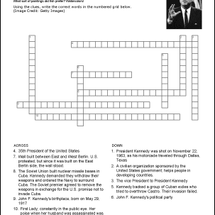 John F Kennedy Wordsearch Worksheets Coloring Pages