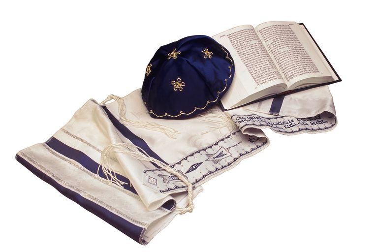 kippah and tallit