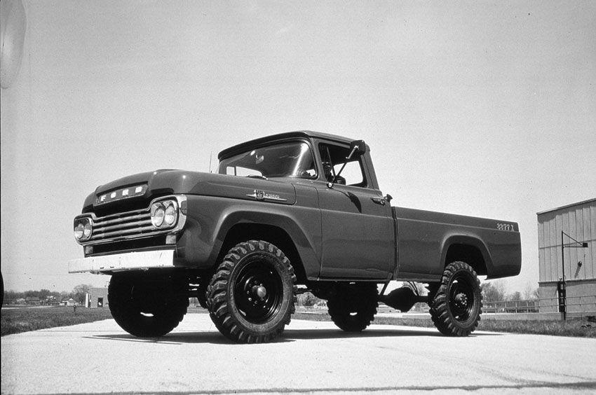 1959 Ford F 250 Pickup Truck