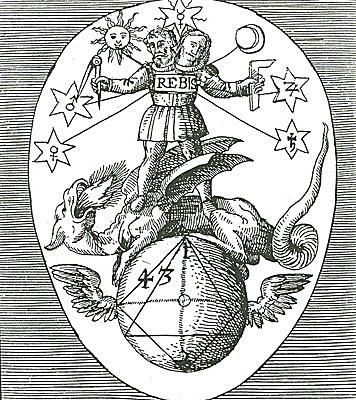 Sigil of Rebis known as Theoria Philosophiae Hermeticae