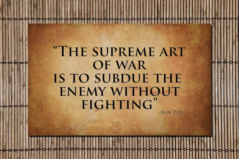 The supreme art of war