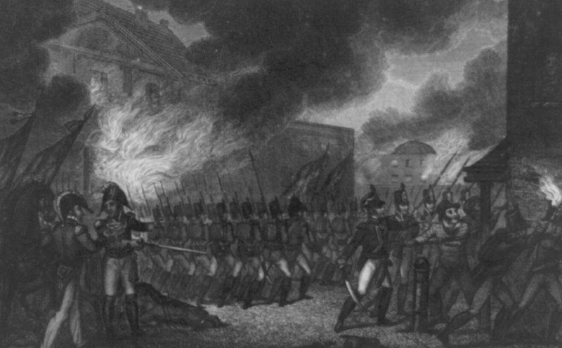 British Troops in Washington