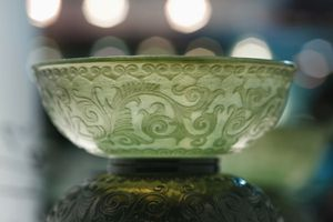Close-Up of Jade Sculpture