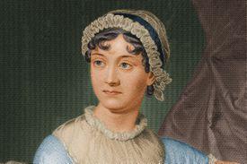 Jane Austen portrait painting