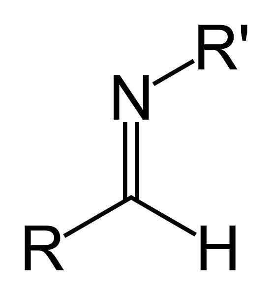 The secondary aldimine functional group has the formula RC(=NR')H. It is a type of imine.