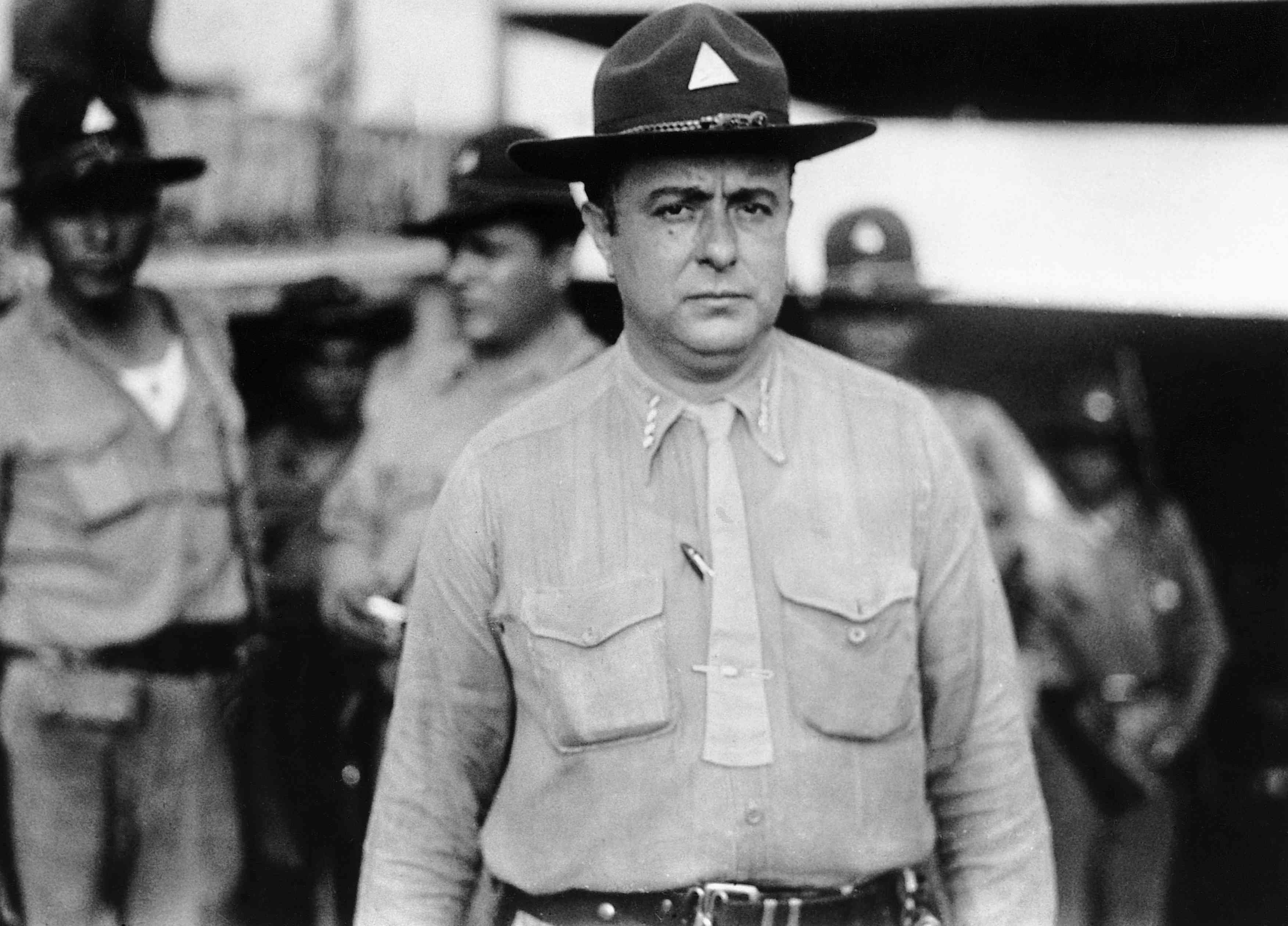Anastasio Somoza Garcia, 1936