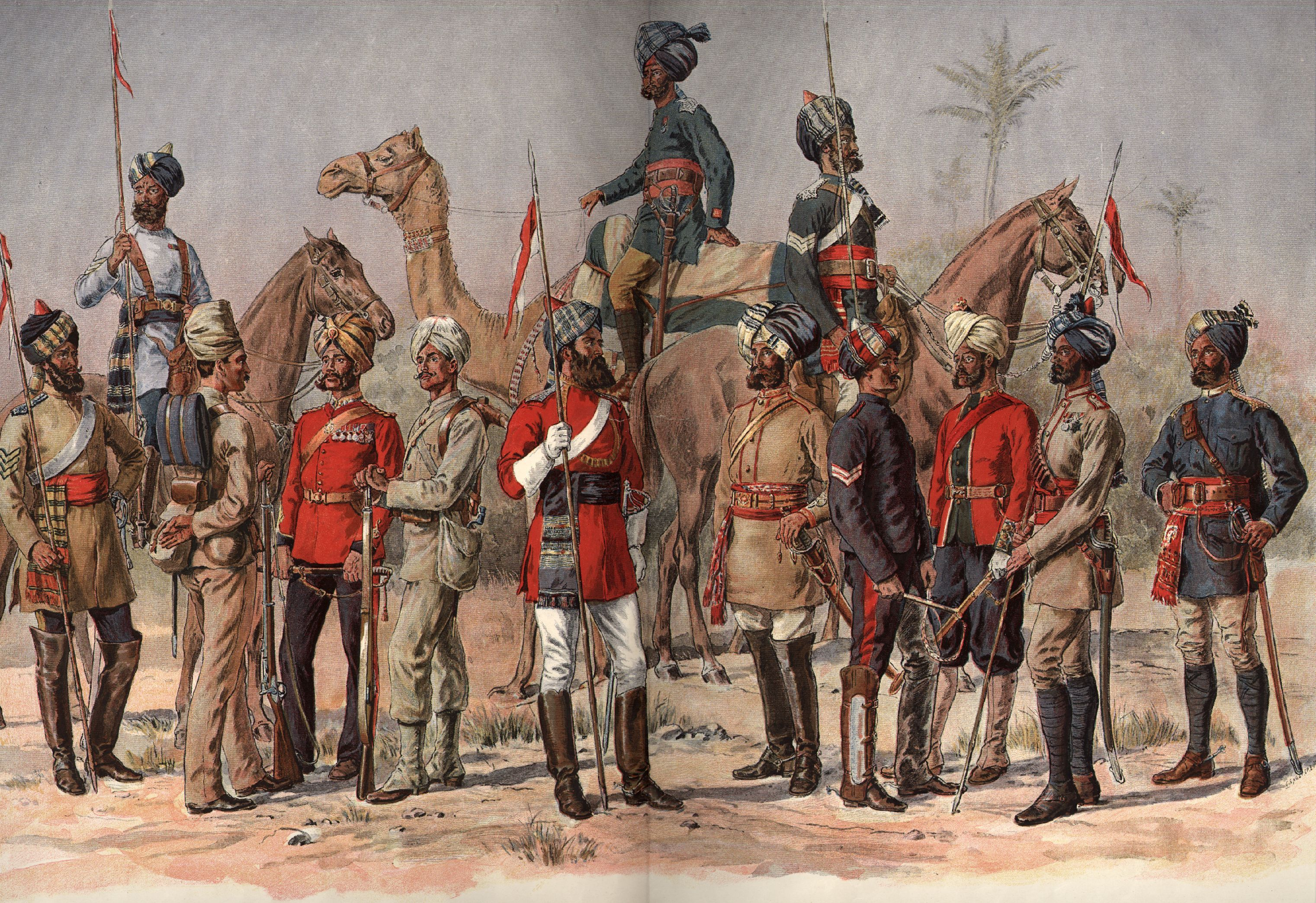 Sepoys of the Madras Army
