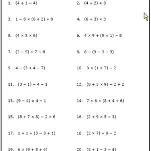 in addition Worksheets Order Of Operations Pemdas Practice Answers Includes Four furthermore Exponents Worksheets Grade Order Operations With Printable Of 8 Pdf also  besides Order Of Operations Worksheet   Mychaume in addition Ordering Integers Worksheet Operations With Worksheets Word Problems additionally  moreover  besides Printable Order of Operation Worksheets likewise order of operations with variables worksheets together with Math Operations Worksheets Order Of Operations Worksheets Activities in addition Order of Operations Worksheets   Order of Operations Worksheets for likewise Math Worksheets Order Of Operations With Fractionstiona Mixed as well Order Of Operations Math Worksheets For Grade Download Them And Try together with  as well BINGO Game for Order of Operations by Sarah Gilbert   TpT. on order of operations worksheet pdf
