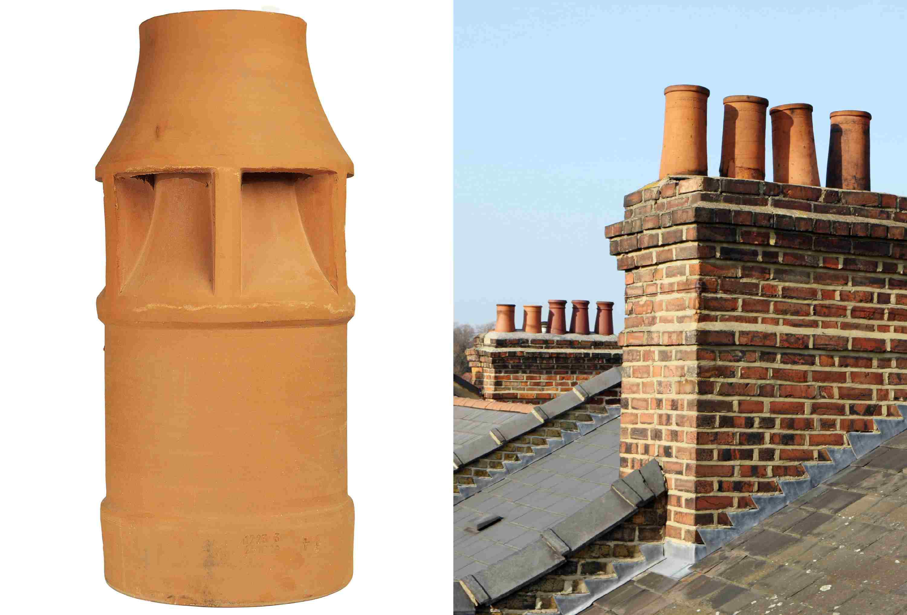all about chimney pots - definitions and photos