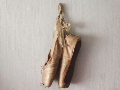 Image result for old ballet shoes