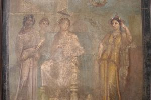 "VERGIL: ""Aeneid"" - Dido seated on a throne"