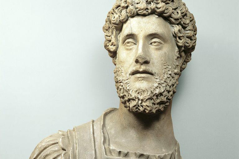 A 2nd century bust of the Roman Emperor Commodus