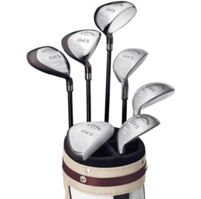 Callaway GES (Game Enjoyment System) set of golf clubs for women