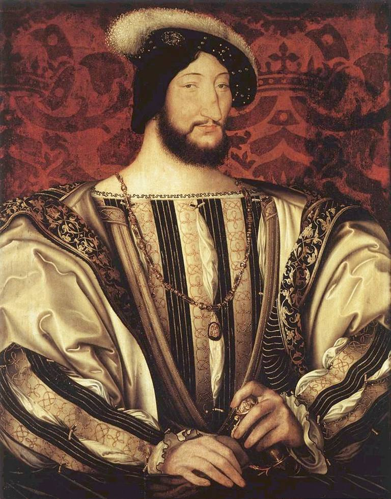 King Francis I by Jean Clouet