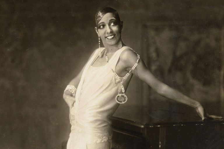 Josephine Baker in 1925 in Hamburg, Germany