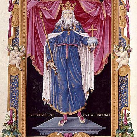 Post-medieval portrait from Bibliothèque Nationale de France