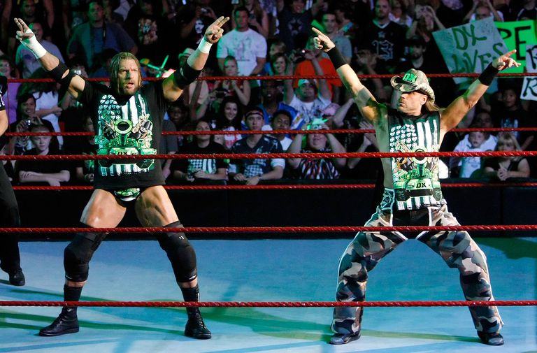 D-Generation X Members Triple H and Shawn Michaels